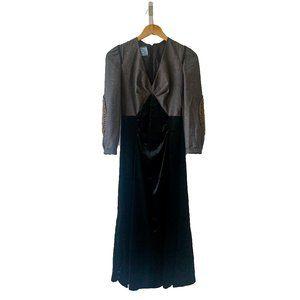 Prada Ruched Velvet Dress